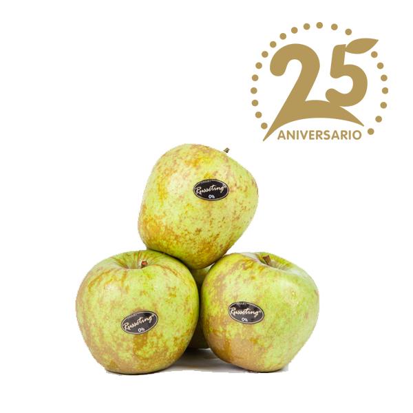 Manzana Golden Russeting 25 aniversario Fuijet